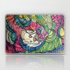 Pink v Blue Laptop & iPad Skin