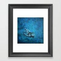 Viaje Al Espacio 3 Framed Art Print