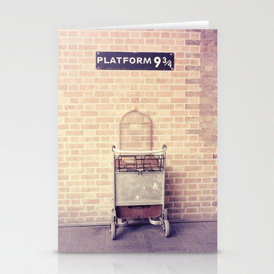 Platform 9 3/4 Stationery Card
