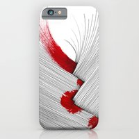 iPhone & iPod Case featuring Impact (white version) by Efi Tolia