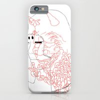 iPhone & iPod Case featuring Hannya by Susanah Grace