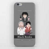 Black Books iPhone & iPod Skin