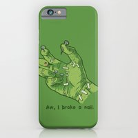 iPhone & iPod Case featuring Frankenhand by Hillary White
