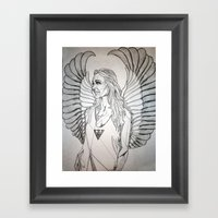Architecture At Its Flye… Framed Art Print