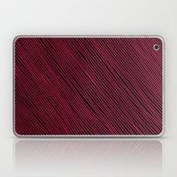 Stripes - Red Laptop & iPad Skin