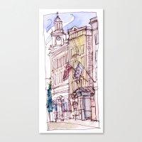 Mark Spencer Hotel Canvas Print