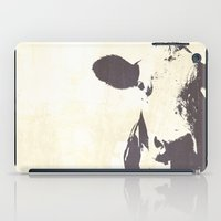 Rustic Cow iPad Case