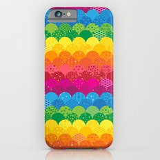 Waves of Rainbows iPhone 6 Slim Case