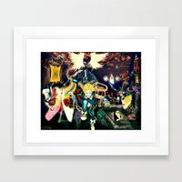 Final Adventure Fantasy Time! Framed Art Print