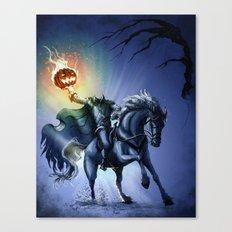 The Horseman Cometh Canvas Print