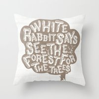 See The Forrest For The … Throw Pillow
