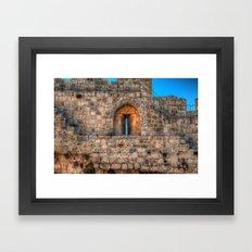 The Old City Framed Art Print