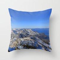Maggies Peak Throw Pillow