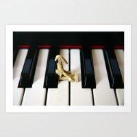 Star Wars Piano Droid Art Print