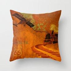 VINTAGE-Santa Fe Throw Pillow