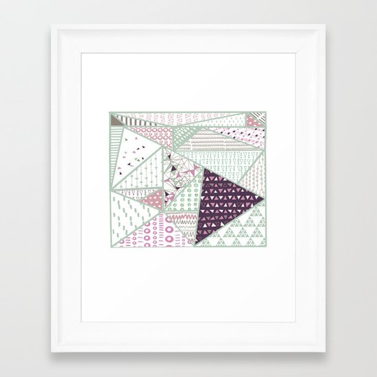 Tribal1 Framed Art Print