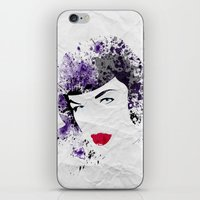 Queen of Pin-Up iPhone & iPod Skin