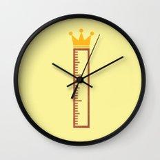 Ruler Wall Clock