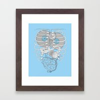 Internal Rhythm Framed Art Print