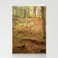 Life Is Uphill Stationery Cards