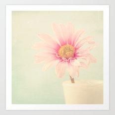 Como la flor. Art Print