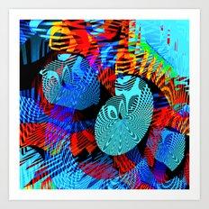 Gazing Inward Art Print