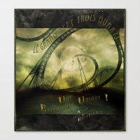 Le Grand Sept-trois-quar… Canvas Print