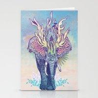 Spirit Animal - Elephant Stationery Cards