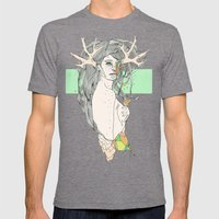 Colour Blind VI Mens Fitted Tee Tri-Grey SMALL
