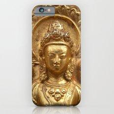 Gilded Buddha Image Swayambhu iPhone 6 Slim Case