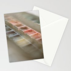 Water Color Paints Stationery Cards