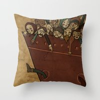 Immigrants Throw Pillow