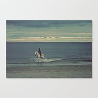 Nautica: Water Child Canvas Print