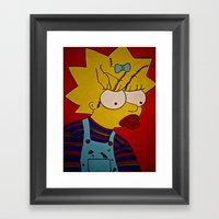 Maggie Lee Ray Framed Art Print