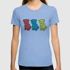 Little Lion Men Womens Fitted Tee Athletic Blue SMALL