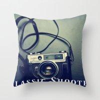 Classic Shooter Throw Pillow
