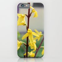 iPhone & iPod Case featuring Yellow by hcase