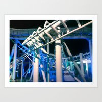 coaster madness Art Print