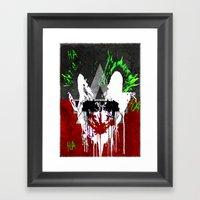 Arkham City Joker!  Framed Art Print