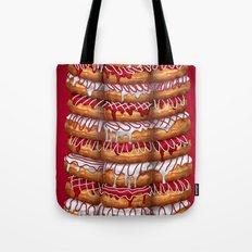 Donuts IV 'Merry Christmas' Tote Bag