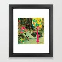 è_DurA_La_ViTA_dei_Most… Framed Art Print