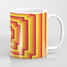 Technicolour Cross - Orange Mug