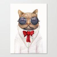 Astro Cat Canvas Print
