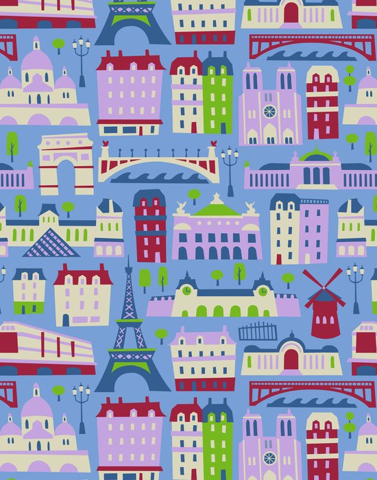 J'adore Paris Canvas Print