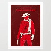 No184 My Django Unchaine… Art Print
