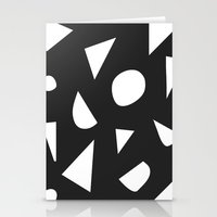 Boom on Black Stationery Cards