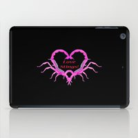 Love Stings - Black Background iPad Case