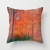 Beautiful Colors Of Autu… Throw Pillow