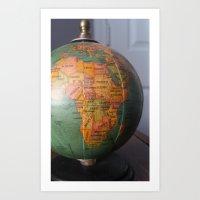 Global Art Print