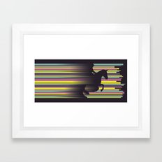 Olympic Horse Riding Framed Art Print